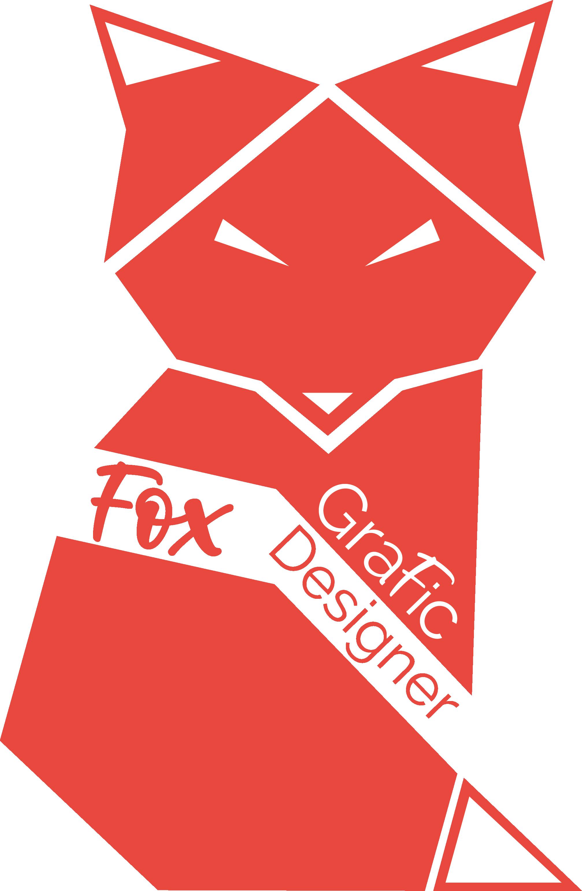 logo de fox grafic designer